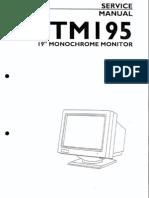 Atari Ttm195 Service Manual