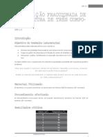 Relatório da APL 2.1 - Química 12º ano