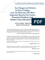 5 Most Dangerous Problems in Forex Trading