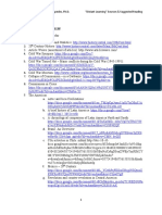 Reading List and Distant Learning Sources - Dr. Juan R. Céspedes, Ph.D.