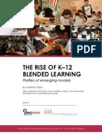 The Rise of K 12 Blended Learning