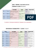 Cronograma día del cole de clase 5 a 12  ult  vers