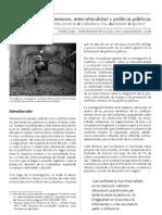 mineria e interculturalidad
