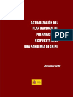 Actualizacion Plan Nac. Pandemia Gripe Dic 06