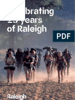 Celebrating 25th years of Raleigh
