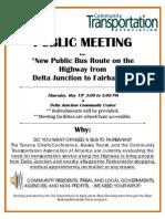 Tcc Public Meeting Flier Delta Junction