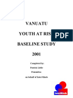 Vanuatu Youth at Risk