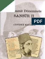 Cevdet Kudret Abdulhamit Doneminde Sansur 2