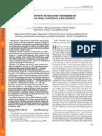 Acute Renal Failure, High Doses of Furosemide