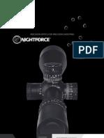 Night Force Catalog Usa 2011