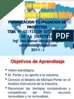 SEMESTRE 2011 - I -  PROYECTO - SEMANA Nº 03