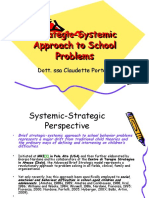 Strategic-Systemic Approach to School Problems