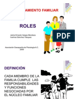 Funcionamiento Familiar Roles