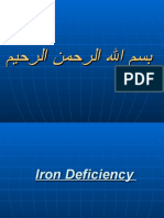 Fe Deficiency