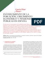 Envejecimiento de la población crecimiento económico y pensiones en España-Garcia Diaz M-Serrano Pérez F
