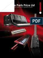 HOHNER_Spare Parts Price List 2010 Engl. Version
