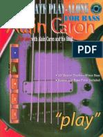 (Bass Book) Alain Caron - Ultimate Play-Along