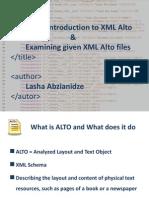 XML Alto