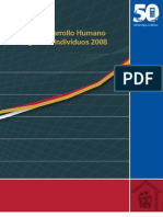 Indice de Desarrollo Humano de Hogares e Individuos 2008