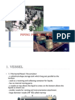 Piping Process Equipment Summary