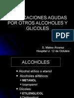 intoxicación por alcoholes
