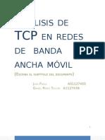 Anlisis de TCP en Redes de Banda Ancha Movil