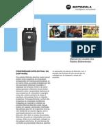 Manual Do Usuario Radio EP450
