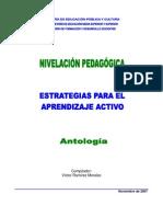 ANTOLOGÍA ESTRATEGIAS PARA EL APRENDIZAJE ACTIVO