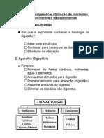 Fisiologia da digestão e utilização de nutrientes