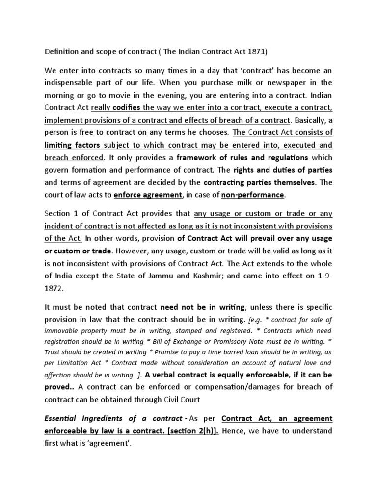 Mba Notes Guarantee Law Of Agency
