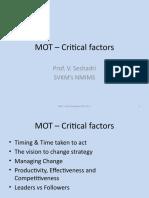 3. Critical Factors - MOT
