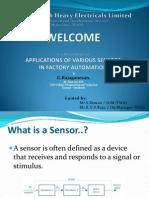 Sensor - Presentation - Bhel r&d
