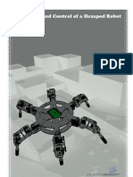 Model and Control of a Hexapod Robot