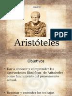 Aristóteles trabajo terminado