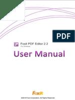 Fox It PDF Editor 22 Manual