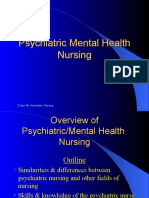 Psychiatric Mental Health Nursing Presentation