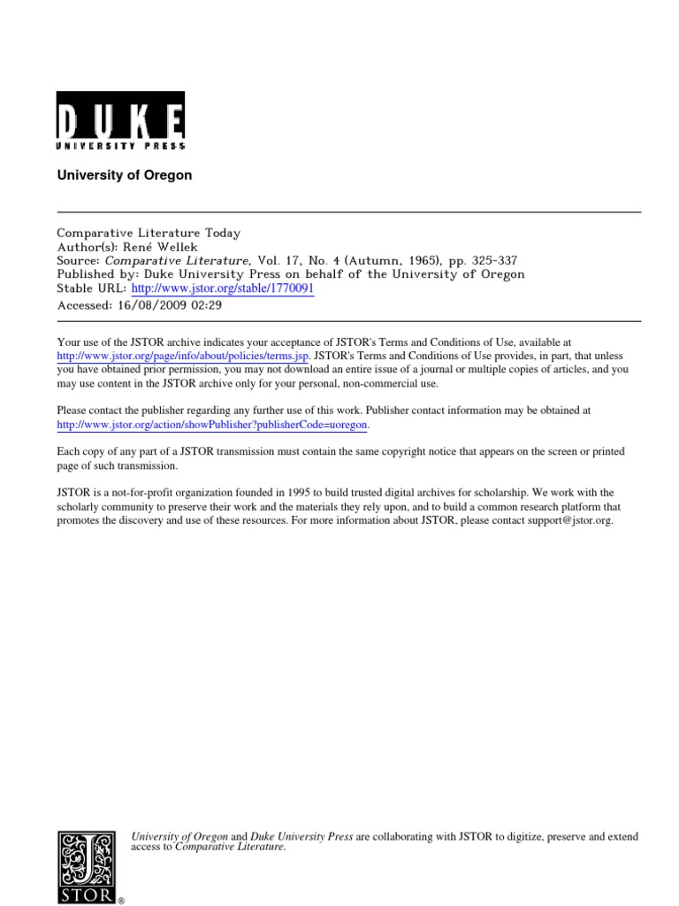 Comparative literature dissertation proposal