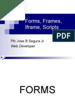 Forms, Frames, Iframes