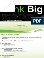 Safaricom Fixed Data Service