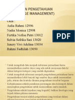 Manajemen Pengetahuan (Knowledge Management)