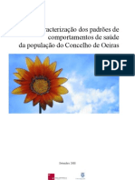 Caracterização dos padrões de comportamentos de saúde da população do Concelho de Oeiras