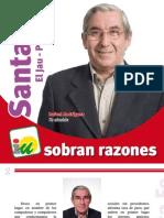 Programa de Iu Santa Fe El Jau y Pedro Ruiz