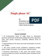 Single Phase AC