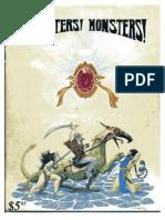 Monsters Monsters - 1E - 1976