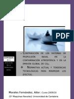 Contribucion de Los Sitemas de La Propulsion Naval en La Contaminacion Atmosferica y La Reduccion de Emisiones de Co2.