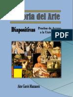 DIAPOSITIVAS CON COMENTARIO HISTORIA DEL ARTE