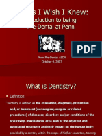 Introduction to Dentistry