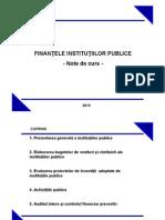 Finantele Institutiilor Publice Mihalcea