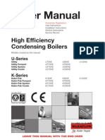 High Efficiency Condensing Boilers Manual