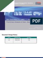 "US Department of Transportation (DOT) ""Next Generation 911"" Preliminary Cost Value Risk Analysis v2.0 (2008)"